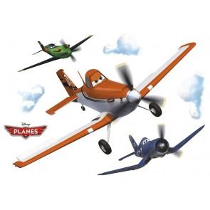 Dekorativna nalepka - Planes Rusty