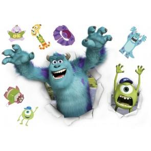 Dekorativna nalepka - Monsters University