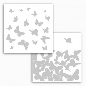 Dekorativna nalepka za steklo - Butterflies