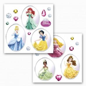 Dekorativna nalepka za steklo - Princess