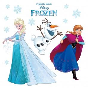 Dekorativna nalepka za steklo - Frozen Snowflake
