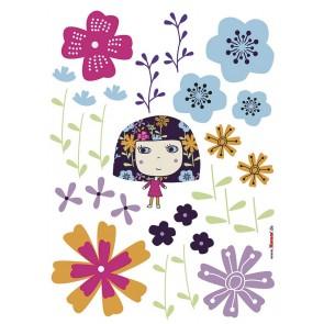 Dekorativna nalepka - Flowerine