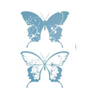 Dekorativna nalepka - Farfalle