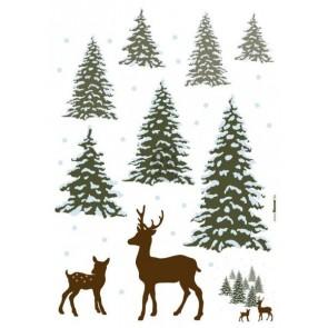 Dekorativna nalepka - Winter Wonderland