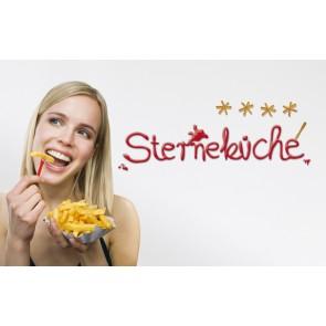 Dekorativna nalepka - Sterneküche