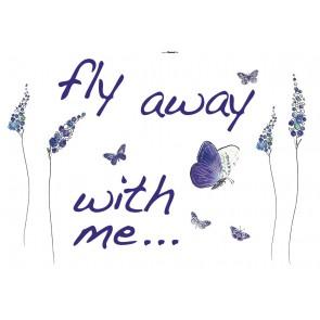 Dekorativna nalepka - Butterflies