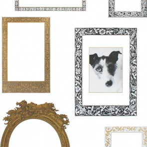 Dekorativna nalepka - Frames