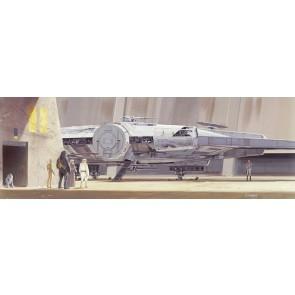 Fototapeta - STAR WARS Classic RMQ MilleniumFalcon