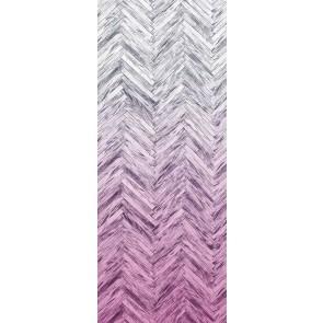 Fototapeta - Herringbone Pink Panel