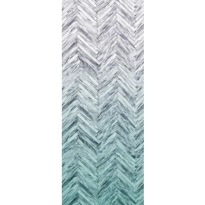 Fototapeta - Herringbone Mint Panel
