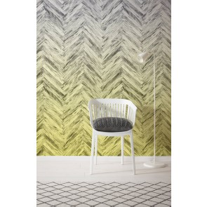 Fototapeta - Herringbone Yellow