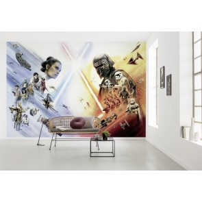 Fototapeta - STAR WARS EP9 Movie Poster Wide