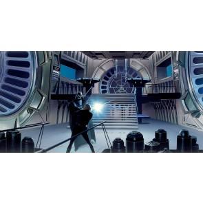 Fototapeta - Star Wars Classic RMQ Duell Throneroom