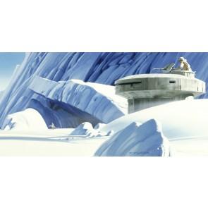 Fototapeta - Star Wars Classic RMQ Hoth Echo Base