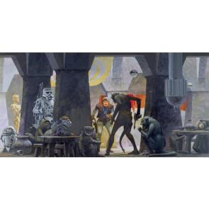 Fototapeta - Star Wars Classic RMQ Mos Eisley Streets