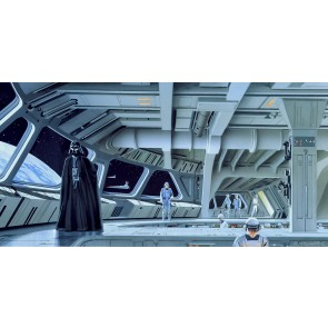 Fototapeta - Star Wars Classic RMQ Stardestroyer Deck