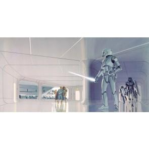 Fototapeta - Star Wars Classic RMQ Stormtrooper Hallw