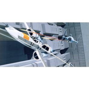 Fototapeta - Star Wars Classic RMQ X-Wing vs TIE-Figh