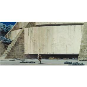 Fototapeta - Star Wars Classic RMQ Yavin Temple