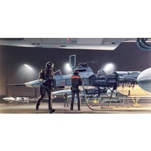 Fototapeta - Star Wars Classic RMQ Yavin Hangar