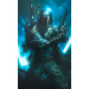 Fototapeta - Star Wars Classic Bounty Hunter