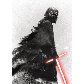 Fototapeta - Star Wars Kylo Vader Shadow