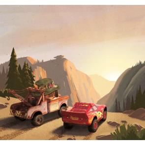 Foto tapeta - Cars Sundown