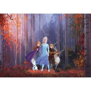 Foto tapeta - Frozen Autumn Glade