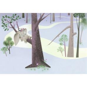 Foto tapeta - Dumbo Sleep on Tree