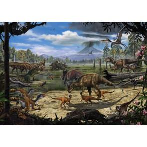 Foto tapeta - Dinosaurs on the Shore