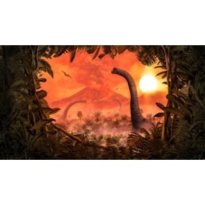 Foto tapeta - Brachiosaurus Panorama