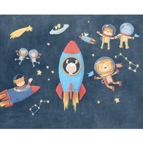 Foto tapeta - Friends in Space