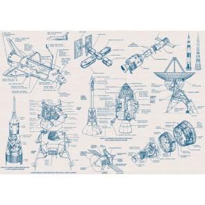 Foto tapeta - Spacecraft Architecture