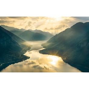 Fototapeta - Zlate gore