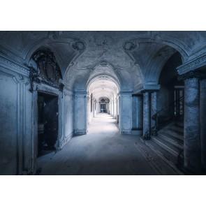 Foto tapeta - Villa Blue