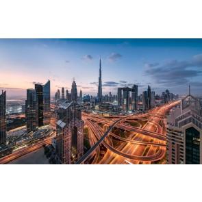 Fototapeta - Luči Dubaja