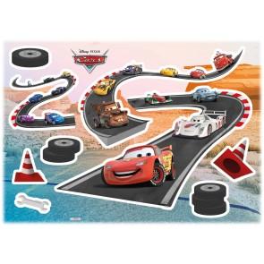 Dekorativna nalepka - Deco-Sticker Cars Track
