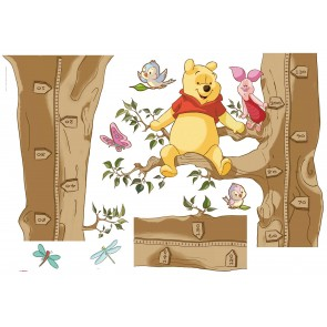 Dekorativna nalepka - Winnie The Pooh Size
