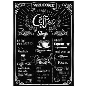 Dekorativna nalepka - Coffeeshop