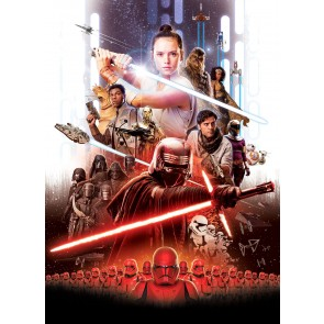 Fototapeta - STAR WARS EP9 Movie Poster Rey