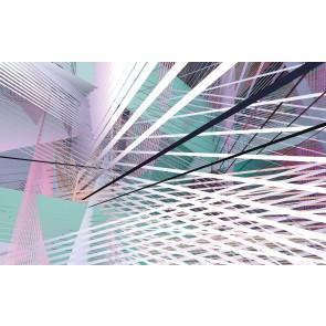 Fototapeta - Space Grid Spring