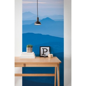 Fototapeta - Blue Mountain  Panel