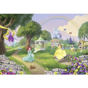 Fototapeta - Disney Princess Rainbow