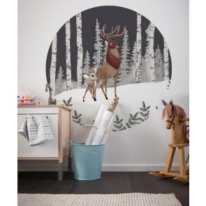 Samolepilna foto tapeta - Bambi Great Prince