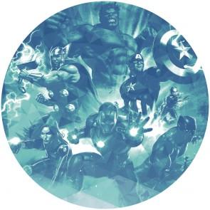 Samolepilna foto tapeta - Avengers Blue Power