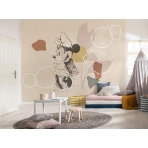 Foto tapeta - Minnie Soft Shapes