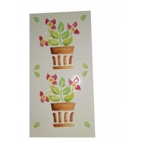 Decor style cvetlični lonček -