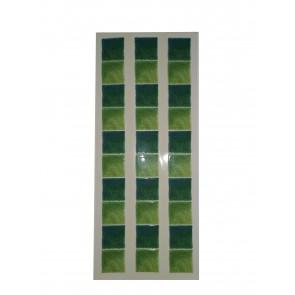 Decor style obroba zeleni mozaik -