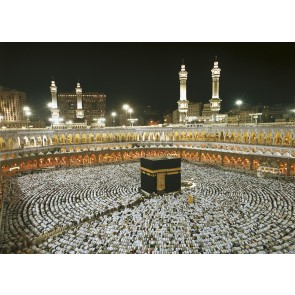 Fototapeta - Kaaba at Night