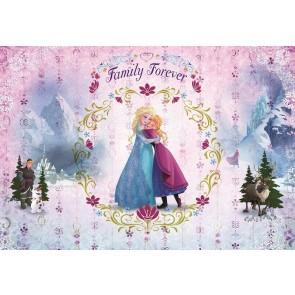 Foto tapeta - Frozen Family Forever